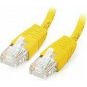 Cablu U/UTP EQUIP Patchcord Cat 6 3m Galben