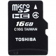 Card Toshiba microSDHC 16GB M102 Clasa 4 cu adaptor SD