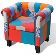 Fotoliu cu model Patchwork, material textil