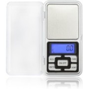 Zelenor Electronic Digital Professional Pocket Scale for upto 200 Grams Weighing Scale(Silver)