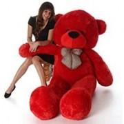 5 FEET CUTE TEDDY BEAR-(Red)