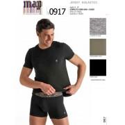 МАР Комфортный мужской комплект из футболки и трусов боксеров Map 917 черный (nero)
