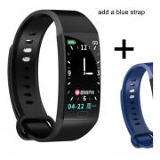 pulsera inteligente para hombre, mujer, medición de la presión arterial, pulsera inteligente, reloj