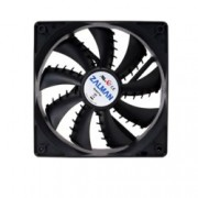 Вентилатор 120мм Zalman ZM-F3(SF), 3-pin, 1200rpm, черен