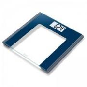 Електронен кантар BEURER GS 170 Sapphire, до 150 кг., стъклен, Син