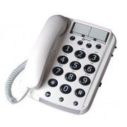 Geemarc DALLAS 10 - Téléphone filaire - blanc