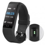 Fontastic Bracciale Fitness Tracker Bluetooth 4.0 con Cardiofrequenzimetro 140CH