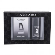 Azzaro Azzaro Pour Homme Night Time set cadou apa de toaleta 50 ml + deodorant stick 75 ml pentru bărbați