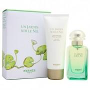 Hermes Un Jardin Sur Le Nil 50ml Apă De Toaletă + 40ml Loțiune de corp Set