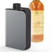 Metrokane Rabbit Tethered Hip Flask