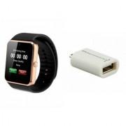 MIRZA GT08 Smart Watch Smart OTG for SAMSUNG GALAXY CORE LITE