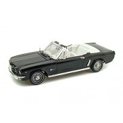 1964 1/2 Ford Mustang Convertible 1/18 Black