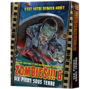 Asmodee Zombies !!! 6 - Six pieds sous terre