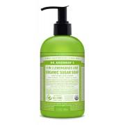 Dr. Bronner's Bio nádcukros szappan - Citromfű-Lime 355ml
