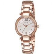 Guess Analog White Dial Womens Watch - W0767L3