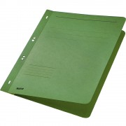 Dosar cu capse 1/1 Leitz, carton, verde