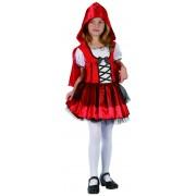 Vegaoo Rödluva - Maskeradkläder för barn till kalaset 110 - 120 cm S (4 - 6 år)