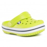 Чехли CROCS - Crocband Clog K 204537 Lime Punch