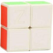 Cubo Magico Rompecabezas Magic Cube Zcube 1x2x2-Blanco