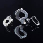 Antares - Vacker silver berlock med örhängen