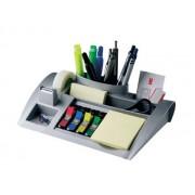 ORGANIZER DE BIROU 3M C-50 argintiu 6 compartimente Plastic Suport instrumente de scris