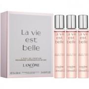 Lancôme La Vie Est Belle eau de parfum para mujer 3 x 18 ml (3x recambio)
