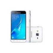 Smartphone Samsung Galaxy J3 Duos Dual Chip Android 5.1 Tela 5'' 8GB 4G Wi-Fi Câmera 8MP - Branco