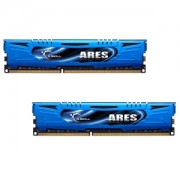 Memorie G.Skill Ares 16GB (2x8GB) DDR3 PC3-19200 CL11 1.65V 2400MHz Intel Z97 Ready Dual Channel Kit Low Profile, F3-2400C11D-16GAB
