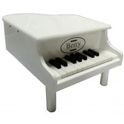 Berry Toys 18-Key Baby/Toddler Little Grand Piano, White