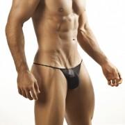 Joe Snyder G String 02 Mesh Black Underwear & Swimwear
