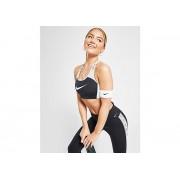 Nike Brassière Running Swoosh Colour Block Femme - Black/White, Black/White - L