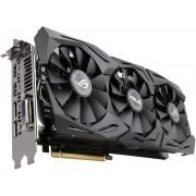 Видеокарта ASUS Radeon RX 580 1360Mhz PCI-E 3.0 8192Mb 8000Mhz 256 bit 2xDPI DVI 2xHDMI HDCP ROG-STRIX-RX580-8G-GAMING