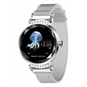 Sweet Access Smartwatch, Bluetooth, Milanaise-Armband silber