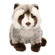 Geen Pluche wasbeer knuffel 25 cm