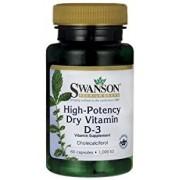 Swanson D Vitamin D3 kapszula 1000IU 60db kapszula