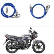 AutoStark Heavy Duty Multi Purpose Goti/Key Helmet Lock (Blue) (Pack of 1) for Hero Glamour