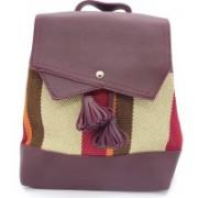 X Y SHOP Korean Style Ladies Bag Backpack(Maroon, 4 L)