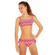 LITEX Dívčí plavky kalhotky bokové 57583 146