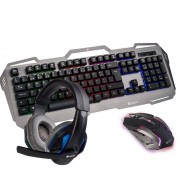 NGS Gaming Pack GBX-1500 Teclado + Rato + Headset