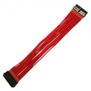 Cablu prelungitor Nanoxia 24 pini ATX, 30cm, Red