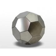 Grote RVS Voetbal Urn (4.8 liter)