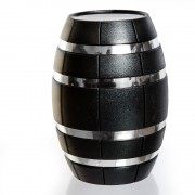 Set accesorii de vin sub forma de butoias