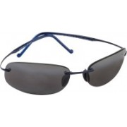 Maui Jim Rectangular Sunglasses(Grey)