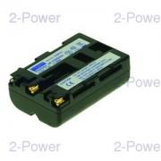 2-Power Digitalkamera Batteri Sony 7.2v 1500mAh (NP-FM500H)