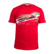 Мъжка тениска PUMA FERRARI SF GRAPHIC TEE - 761690-02