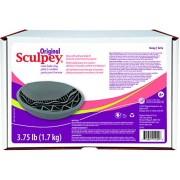 Sculpey Original Polymer Clay 3.75lb-Gray (Pack of 1 )