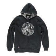 kapucnis pulóver férfi - Pride - METAL MULISHA - FA6510008.01_BLK