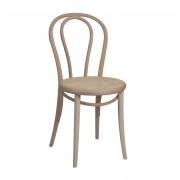 Dille&Kamille Chaise n° 18, hêtre, non traité, assise cannée