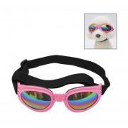 Antiniebla Gafas De Sol Polarizadas UV400 Perro Plegable Para Perros Con 6kg De Peso O Mas Pesado (rosa)