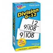 Trend Division Flash Cards - Theme/Subject: Mathematics - Skill Learning: Division